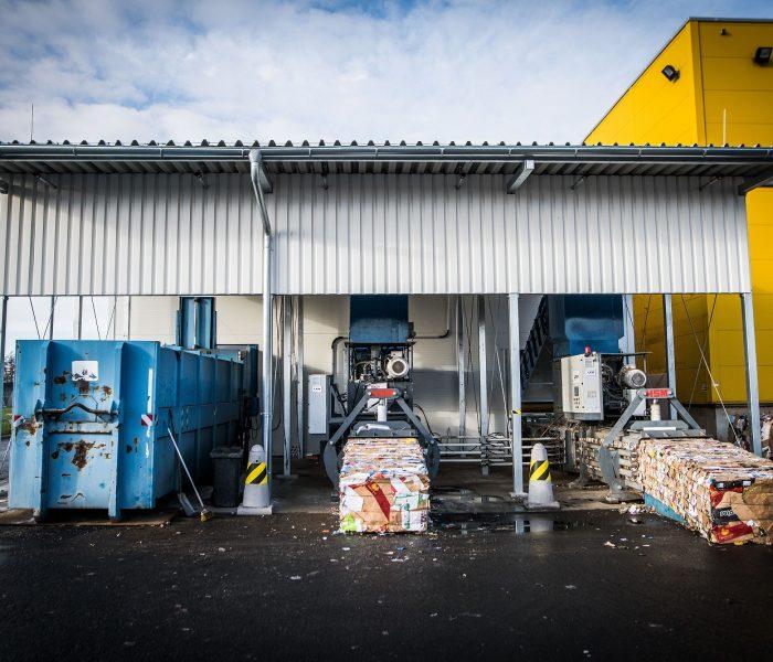 Albert postavil nové recyklační centrum vKlecanech
