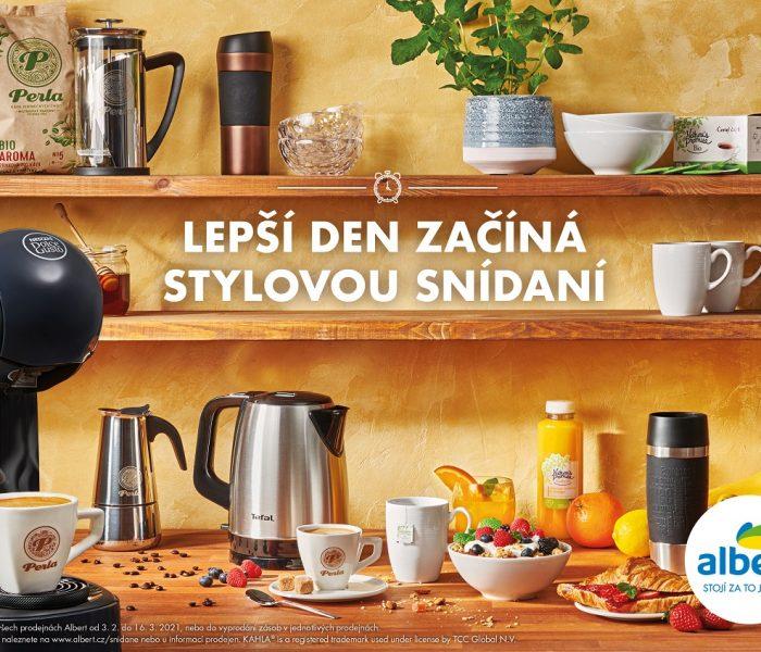 Začněte svůj den stylovou snídaní se sběratelskou kampaní odAlberta