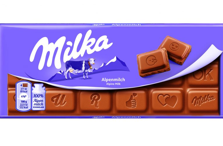 Milka má čokoládu semotikony