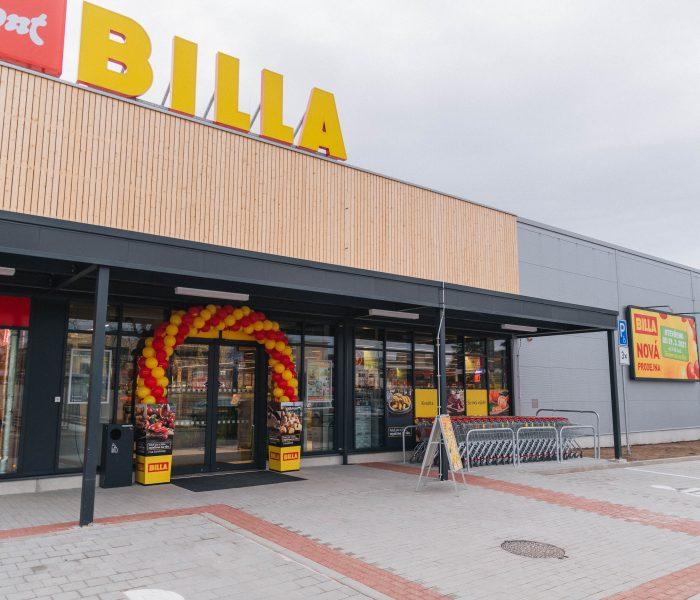 Nová prodejna BILLA vDobříši