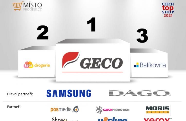 V únorovém kole soutěže CZECH TOP SHOP zvítězila prodejna GECO tabák-tisk, umístěná v pražském OC Letňany