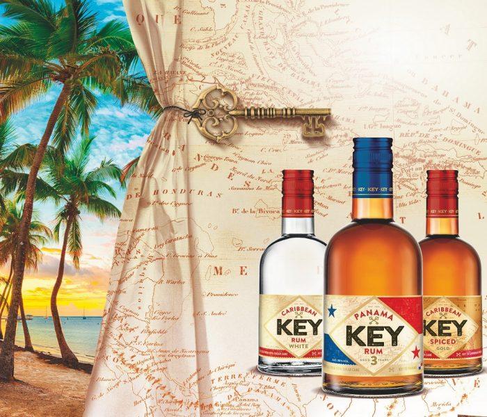 Key Rum přichází v novém designu a lahvi
