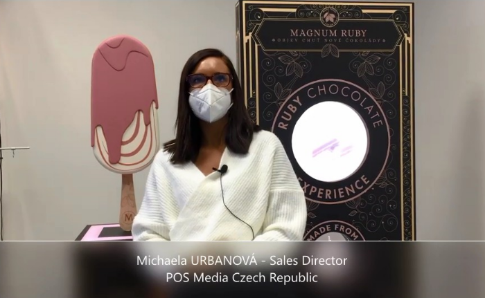 Videoanketa 56 – Michaela Urbanová, POS Media Czech Republic