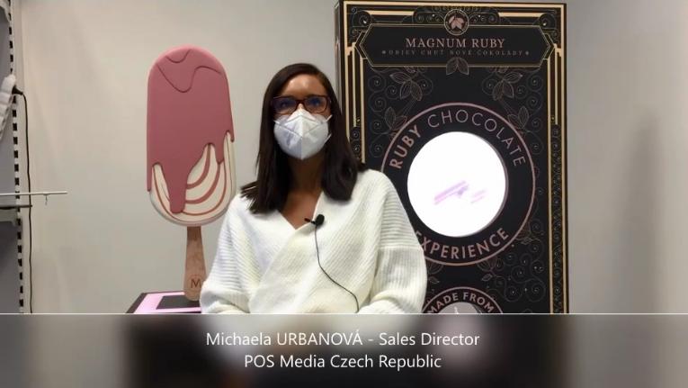 Videoanketa 56 – Michaela Urbanová, POS Media Czech Republic