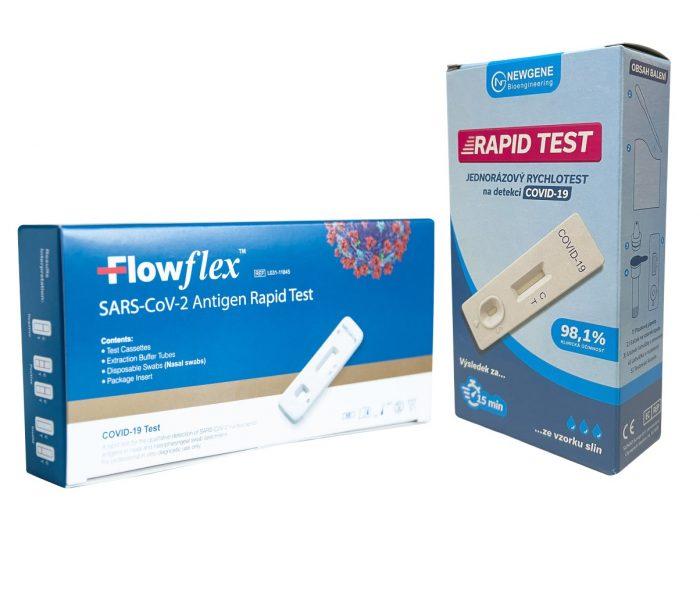 Kaufland pro zaměstnance zdarma zařídil 150 tisíc antigenních testů, pro zákazníky plánuje prodej samotestů