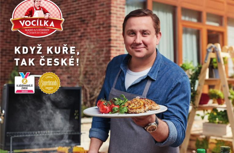 Privátní značka masa a masných výrobků Vocílka získala prestižní ocenění Czech Superbrands 2021