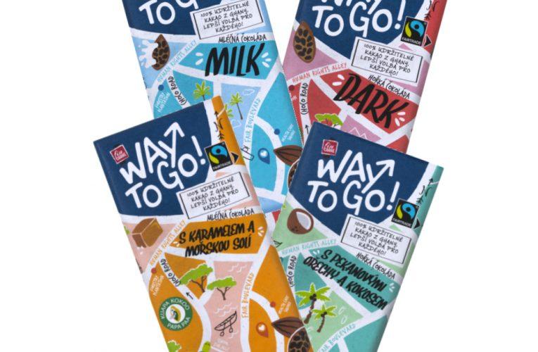 Lidl na trh uvádí férovou čokoládu Way To Go