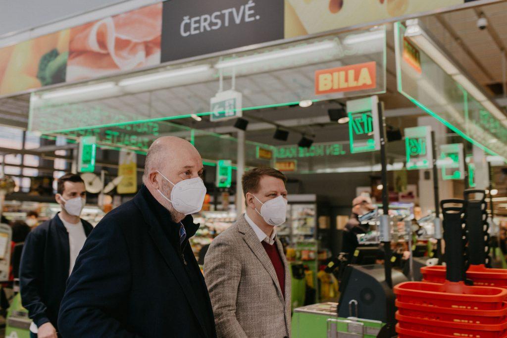 Ministr zemědělství Miroslav Toman a předseda SOČR Tomáš Prouza