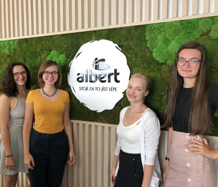 Obchody Albert otevírají dveře talentovaným vysokoškolákům