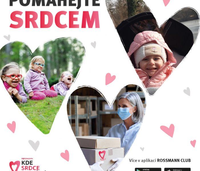 ROSSMANN spouští další vlnu charitativního projektu KDE SRDCE POMÁHÁ