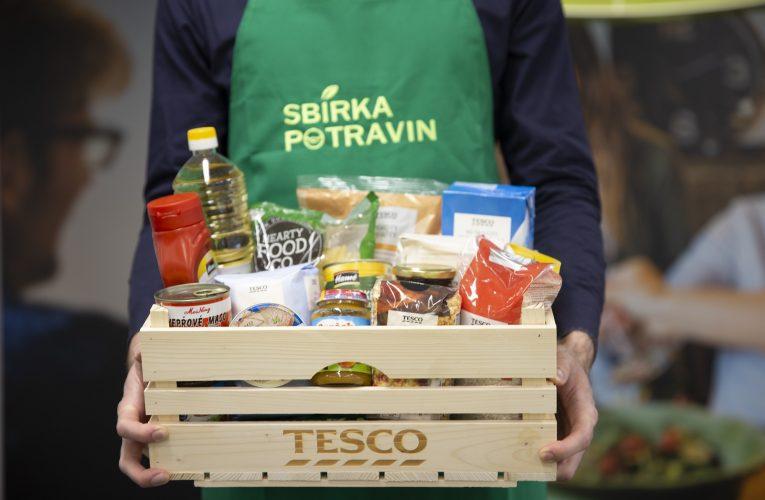 Jarní Sbírka potravin proběhne v sobotu v obchodech Tesco