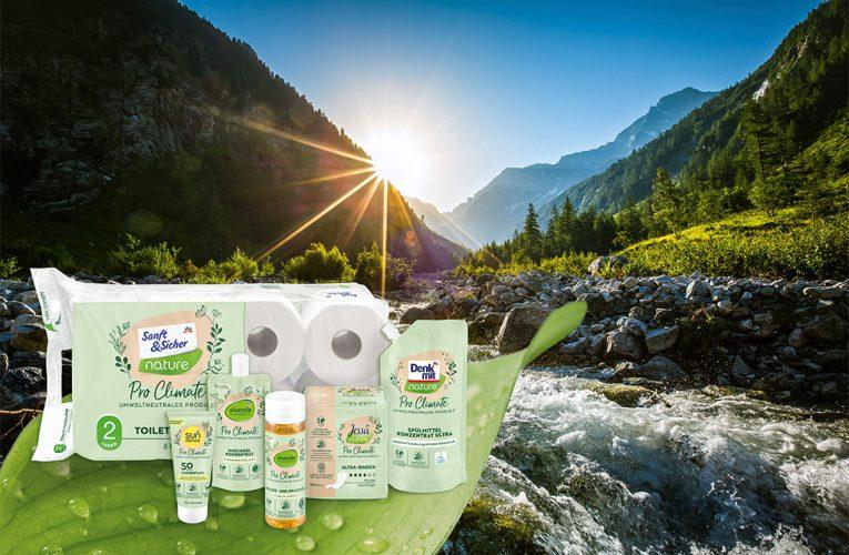 Společnost dm uvádí vlastní produkty neutrální k životnímu prostředí – Pro Climate