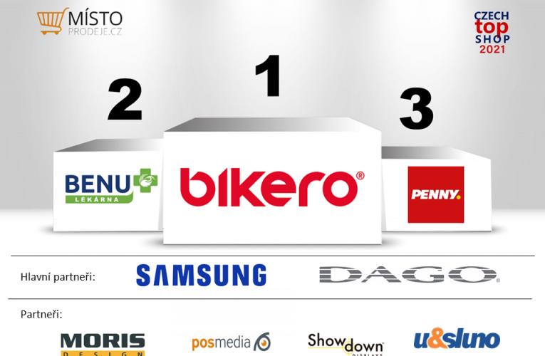 Dubnový Czech Top Shop 2021 je bikero