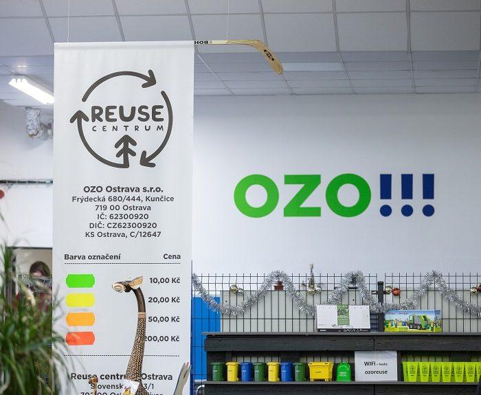 Nejbarevnější reuse centrum má Ostrava
