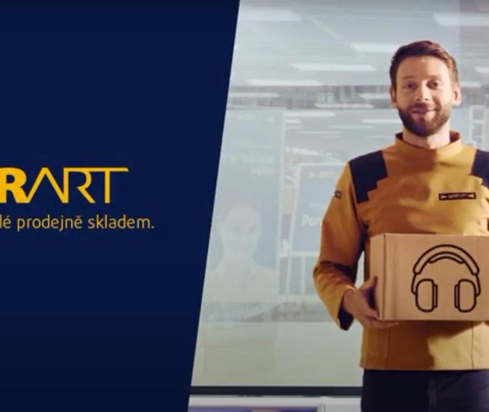 DATART v reklamě od WMC/GREY představuje CHYTRART