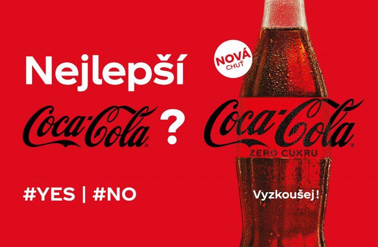 Přichází nová Coca-Cola Zero Sugar