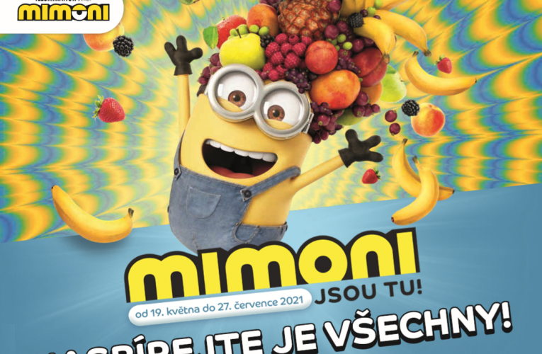 V obchodech Tesco začali řádit Mimoni!