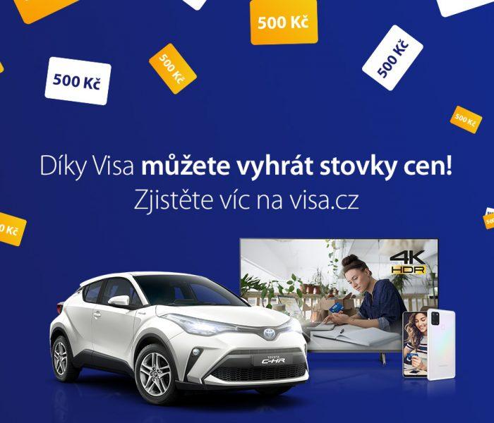 VISA spouští celostátní kampaň na podporu plateb kartou
