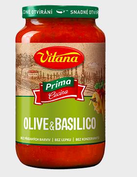 Na trh přicházejí těstoviny a omáčky Vitana Prima Cucina s vůní Itálie