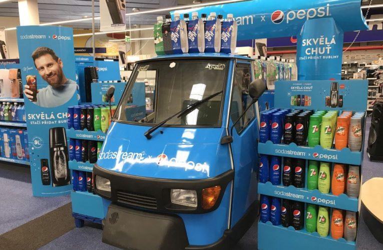 SodaStream s novými příchutěmi Pepsi cílí především na mladé
