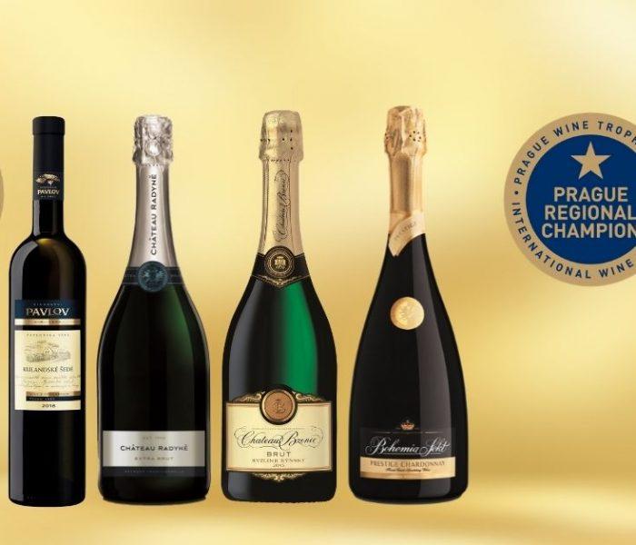 BOHEMIA SEKT získal v prvním kole Prague Wine Trophy dvě desítky medailí