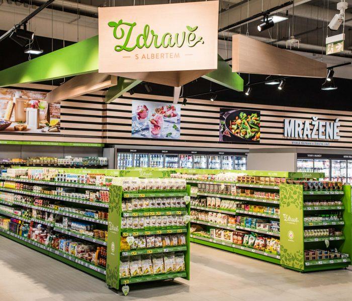 Pardubický hypermarket Albert prošel modernizací