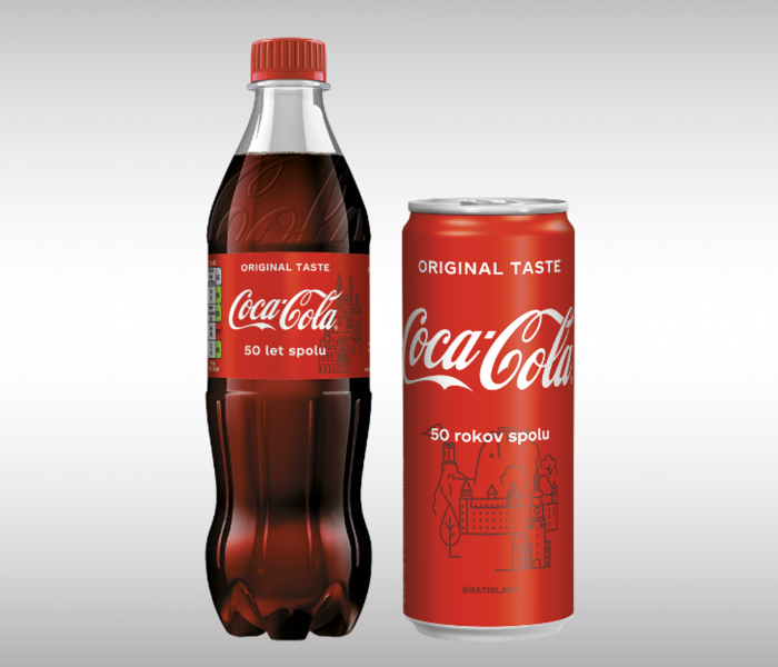 Coca-Cola spouští kampaň na oslavu 50 let svého působení na českém a slovenském trhu