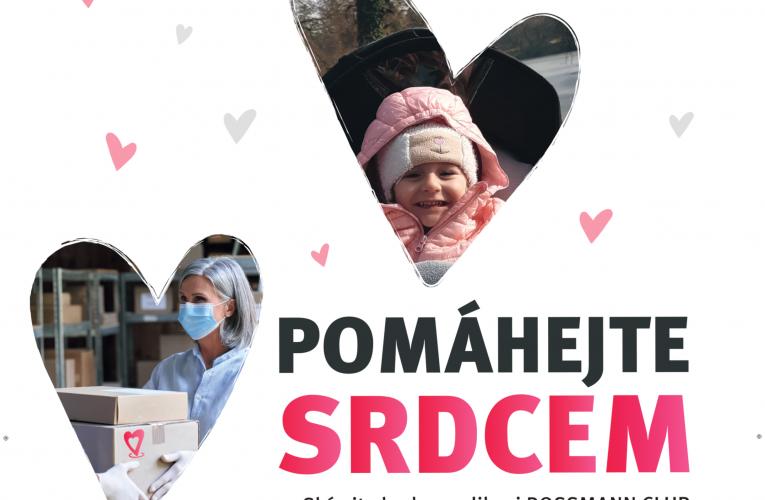 ROSSMANN věnuje v rámci projektu KDE SRDCE POMÁHÁ další milion korun
