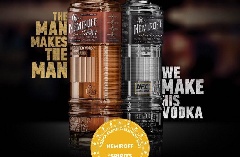 NEMIROFF – nejlepší vodka roku 2021 má konečně své oficiální zastoupení i u nás! Na český trh ji bude distribuovat Coca-Cola HBC CZ/SK