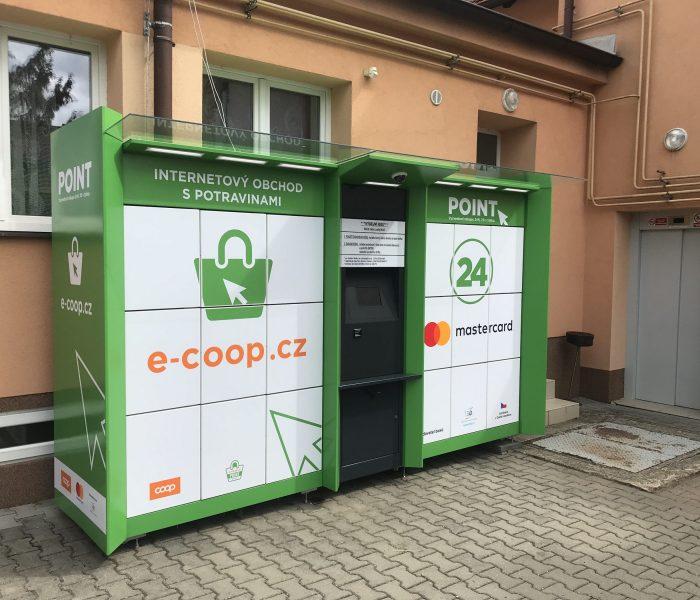 COOP testuje výdejní boxy s potravinami v malých obcích