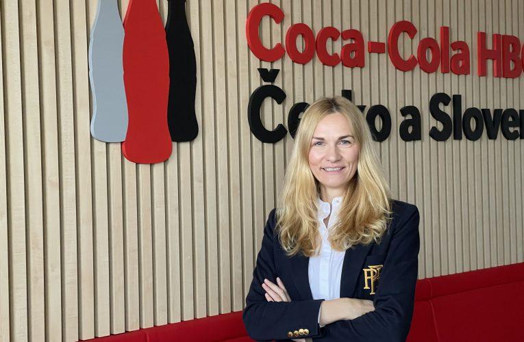 Novou HR ředitelkou společnosti Coca-Cola HBC pro Česko a Slovensko se stala Markéta Pavelková
