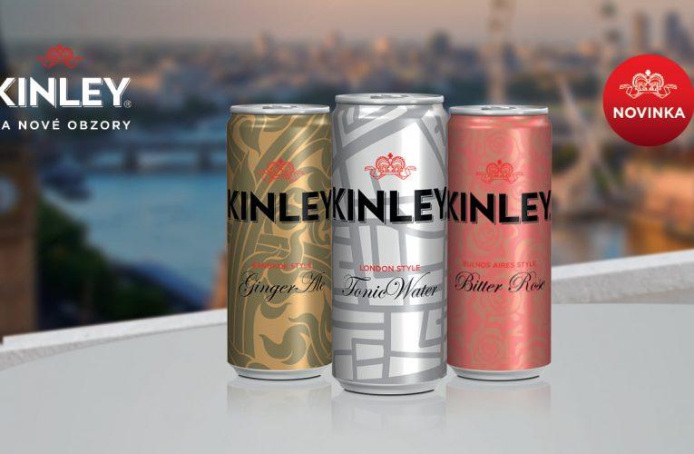 """Coca-Cola slaví obchodní úspěch značky Kinley svou kampaní """"Svět je plný chutí"""""""