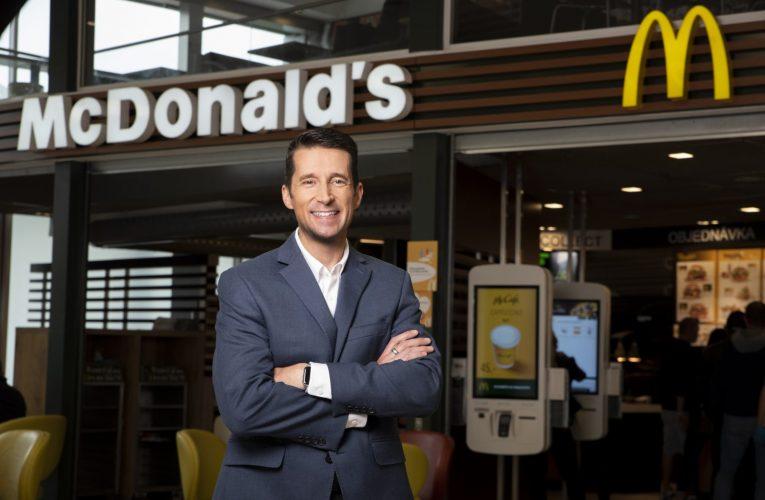Novým generálním ředitelem společnosti McDonald's ČR a SK je Dan Camp