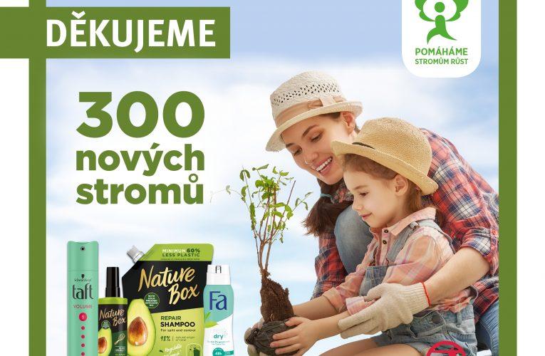 Drogerie ROSSMANN se již pošesté podílí na výsadbě zeleně  po celé České republice