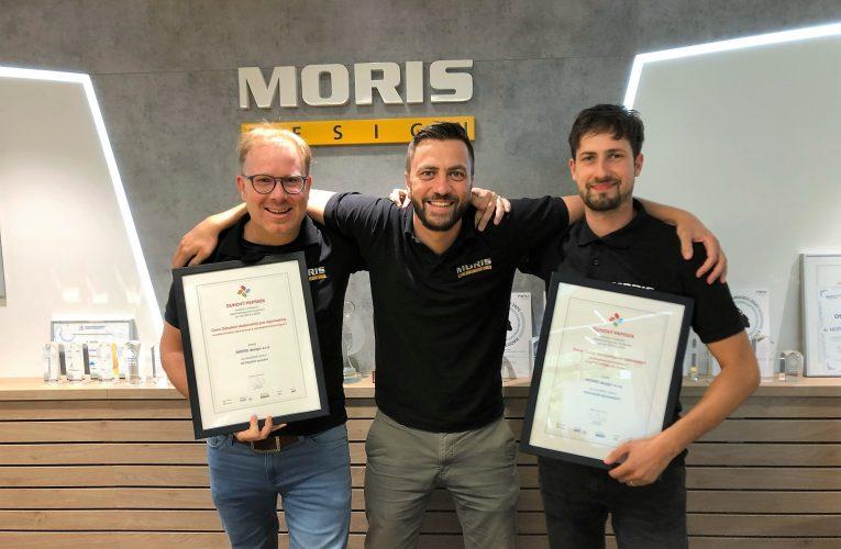 MORIS design získal dvě zlata v odborné soutěži