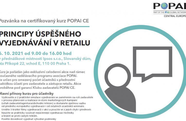 Last Moment nabídka POPAI – kurz retailového vyjednávání