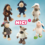 Speciální edice plyšových hraček NICI  bude k dostání v Lidlu již od 20. listopadu